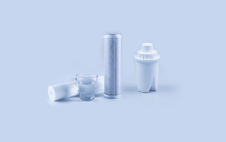 carbon filter and reverse osmosis