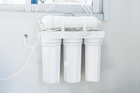 filter system for water